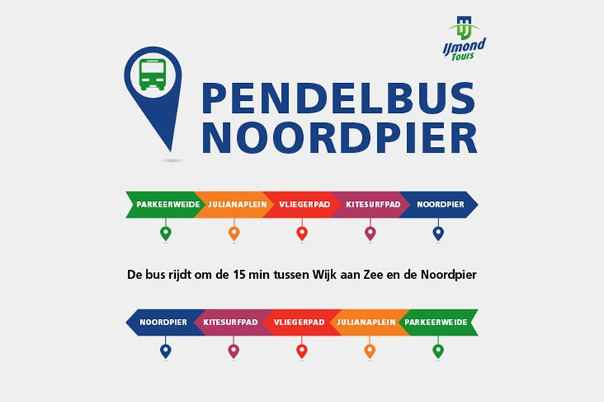Pendelbus Noordpier Wijk aan Zee